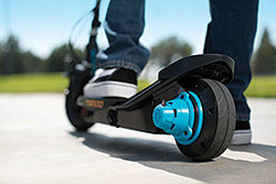 Power Core: мотор-колесо на детском электросамокате