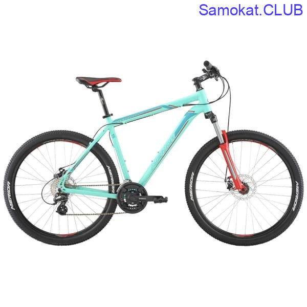 Велосипед Merida Big Seven 15-MD MattBlue/Blue/Red 2019