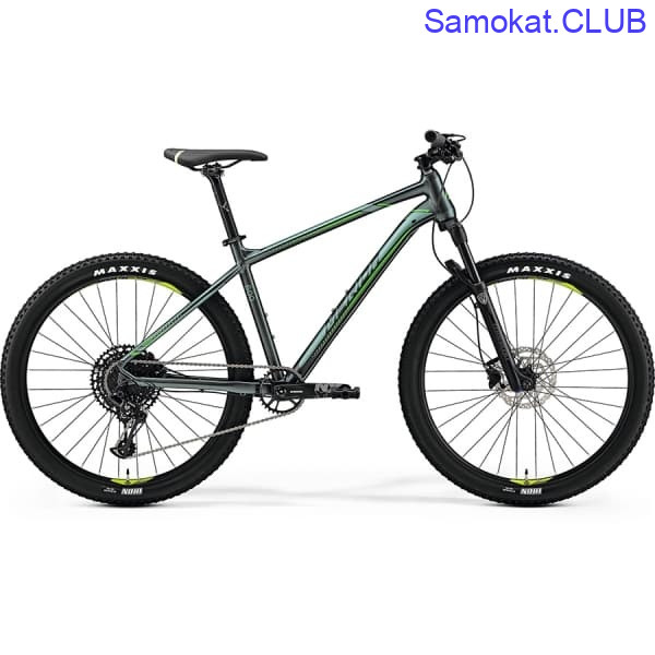 Велосипед Merida Big Seven 600 SilkDarkGreen/NeonGreen 2019