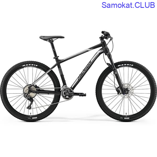 Велосипед Merida Big Seven XT Edition Matt Black (Silver)