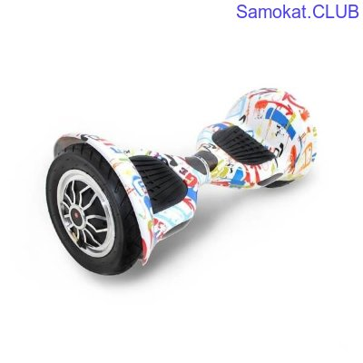 Гироборд Hoverbot C-1 Light white multicolor