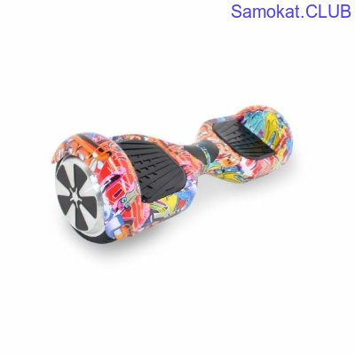 Гироборд Hoverbot A-3 Light cartoon multicolor