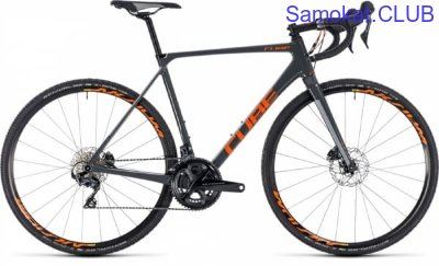 Горный Велосипед CUBE CROSS RACE C:62 PRO 28 (grey'n'orange) 2018