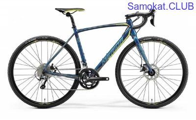 Велосипед Merida CycloCross 300 Petrol/Yellow/LiteTeal (2018)