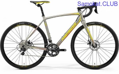 Велосипед Merida CycloCross 400 SilkTitan/Yellow/Red (2018)