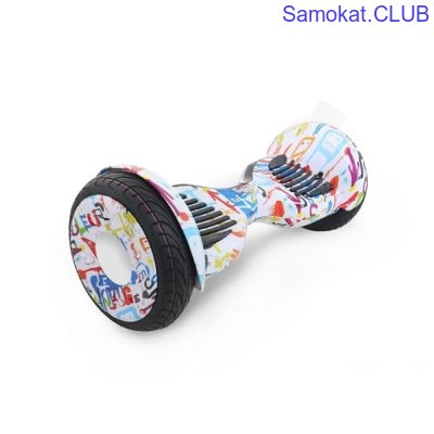 Гироборд Hoverbot C-2 Light white/multicolor