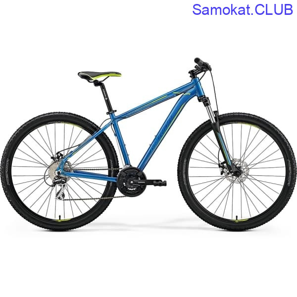 Велосипед Merida Big Nine 20-MD Blue/Blue/Green 2019